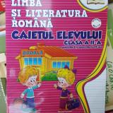 LIMBA SI LITERATURA ROMANA CLASA A II A CAIETUL ELEVULUI SEMESTRUL 1 SI 2 - Manual scolar, Clasa 2