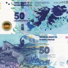 ARGENTINA 50 pesos ND 2015 UNC!!! - bancnota america