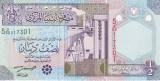 Libia 1/2 Dinar UNC
