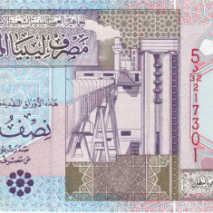 Libia 1/2 Dinar UNC - bancnota asia