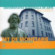 Set de monetarie 2014 : Şcoala Naţionala de Arte Frumoase - Moneda Romania, Argint