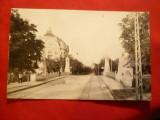 Ilustrata Timisoara -Podul Decebal circulat 1942 ,cenzurat ,Ed. Carol Pollak, Circulata, Fotografie