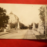 Ilustrata Timisoara -Podul Decebal circulat 1942, cenzurat, Ed. Carol Pollak - Carte Postala Banat dupa 1918, Circulata, Fotografie