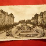 Ilustrata Timisoara -Bdul Regele Ferdinand, circulat 1938 - Carte Postala Banat dupa 1918, Circulata, Fotografie