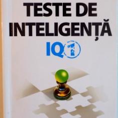 TESTE DE INTELIGENTA, IQ-1 de KEN RUSSELL, PHILIP CARTER, 2014 - Carte Psihologie