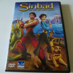 Sinbad - dvd - Film animatie, Engleza