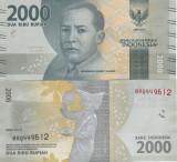 Indonezia 2 000 Rupiah 2016 UNC