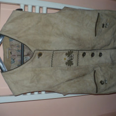 Reducere! Vesta vanatoare-piele 100% - Imbracaminte Vanatoare, Marime: XL