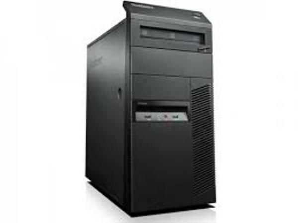 Calculator Lenovo ThinkCentre M81 Tower, Intel Core i5 Gen 2 2400 3.1 GHz, 4 GB DDR3, 500 GB HDD SATA, DVDRW foto mare