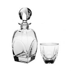 Set 7 piese whisky Fjord, Bohemia Cristal,Cod Produs:1582
