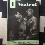 Teatrul revista ianuarie nr. 1 anul X 1965 cultura teatru arta ilustrata anii 60