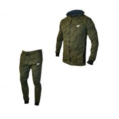 Trening Nike Army - din bumbac, Verde, Gri petrol, Gri - 209 lei - Trening barbati Nike, Marime: S, M, L, XL, Culoare: Nero