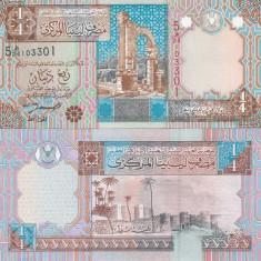 Libia 1/4 Dinar UNC - bancnota asia