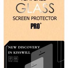 Folie Protectie ecran antisoc Sony Xperia XZ Kisswill Tempered Glass Originala - Folie de protectie
