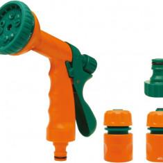Set pistol pentru stropit multijet si accesorii FLO - Stropitoare gradina