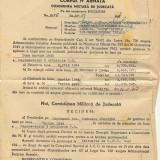 Corpul IV Armata, Comisiunea militara de judecata, DECIZIUNE din anul 1947