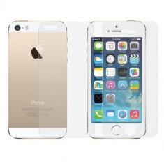 Folie sticla iPhone 5/5S/SE fata+spate - Folie de protectie