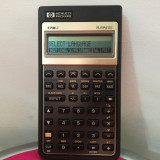 Calculator financiar HP 17Bll Business