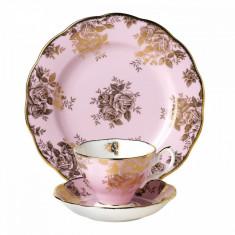 Set 3 piese cafea/ceai Golden Rose HUNALB - Ceasca