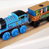Thomas and Friends ✯ Wooden Railway ✯ THOMAS & BOOK CAR ✯  Magnetic Train ✯ 2003