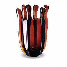 Vaza Liquid Mood Ambra - Vaza si suport flori
