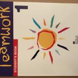 Manual Limba Engleză TEAMWORK 1 Student's Book Limba 1 - Manual scolar, Clasa 4, Limbi straine