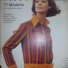 Revista vintage moda PRAMO 68, revista veche moda SAISON 67, de colectie, T.GRATUIT - Revista moda