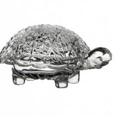 Bomboniera cu capac broasca testoasa 120mm - Cristal Bohemia,Cod Produs:248