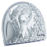 Icoana de Argint Iisus Hristos, 20x17cm
