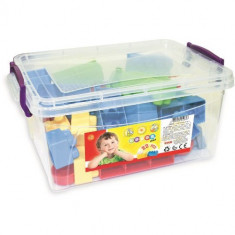 Cutie cu 22 Cuburi Colorate - Jocuri Forme si culori