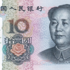China 10 Yuan 2005 UNC - bancnota asia
