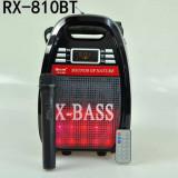 LICHIDARE STOC! BOXA ACTIVA KARAOKE, MP3 USB, BLUETOOTH, ACUMULATOR, MICROFON, REMOTE, Boxe compacte, 81-120W