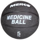 Minge medicinala cauciuc negru 5 kg - Minge Fitness