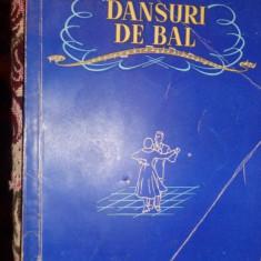 Dansuri de bal 109pag/an 1955 - Carte Arta dansului