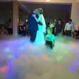 Masina fum greu dansul mirilor + masina baloane - Decoratiuni nunta