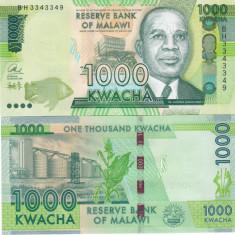 Malawi 1000 Kwacha 01.01.2016 UNC