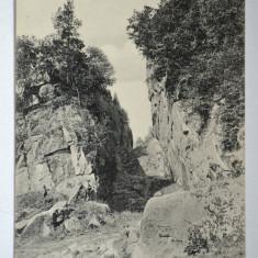 Carte postala veche ELVETIA - Postkarte - Trusentaler Klippe - Schweiz, Circulata, Fotografie