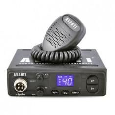 Statie radio CB Avanti Alpha 4W/8W