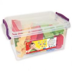 Cutie cu 42 Cuburi Colorate - Jocuri Forme si culori