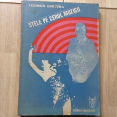 Stele Pe Cerul Muzicii Lubomir Doruzka 1985 carte arta muzica ilustrata hobby - Carte Arta muzicala