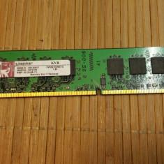 Ram PC Kingston 1 GB DDR2 667 MHz KVR667D3N5-1G - Memorie RAM