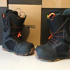 Boots snowboard noi Burton Imperial 42.5, 42,5