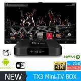 TV BOX-PC Tanix TX3-Mini, AmlogicS905W Quad-core 64bit,2gb,16gb,Wi-fi,Android7.1