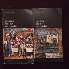 Pentru Un Alt Ev Mediu - Jacques Le Goff (2 Vol) - 13