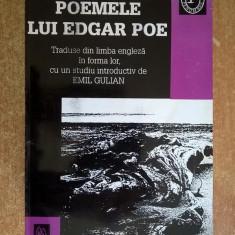 Emil Gulian - Poemele lui Edgar Poe - Carte poezie