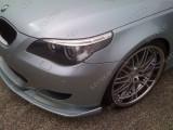 Prelungire lip spoiler bara BMW E60 E61 Seria 5 Hamann pachet M v4, 5 (E60) - [2003 - 2013]