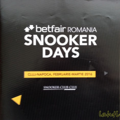 Snooker Days - Cluj-Napoca, 2016. Ken Doherty vs. John Higgins