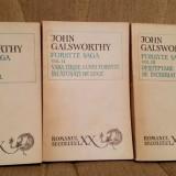 FORSYTE SAGA-JOHN GALSWORTHY (3 VOL) - Roman