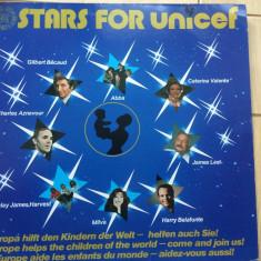 Stars For Unicef Various disc vinyl lp muzica pop rock disco 1982 compilatie, VINIL