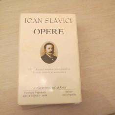 IOAN SLAVICI OPERE VOL.VIII - Nuvela